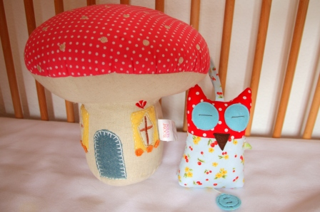 Toddler Room Haul Owls, mushroom pillow, nursery, owls